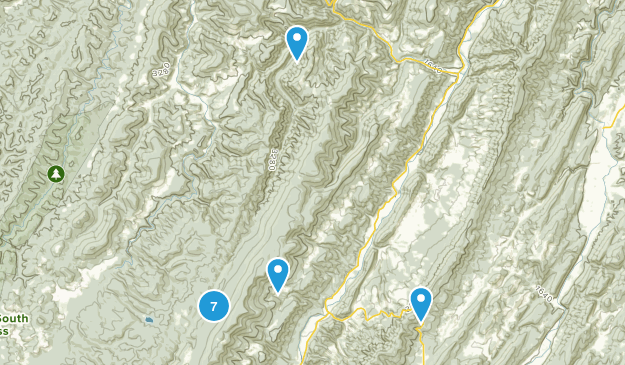 Riverton, West Virginia Map
