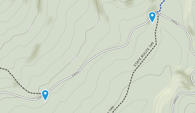 Rockland, West Virginia Map