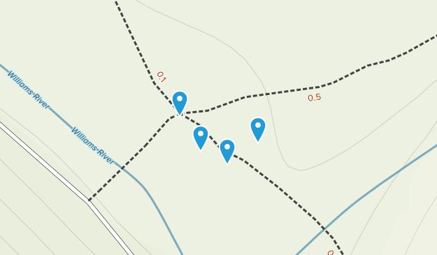 Slatyfork, West Virginia Map