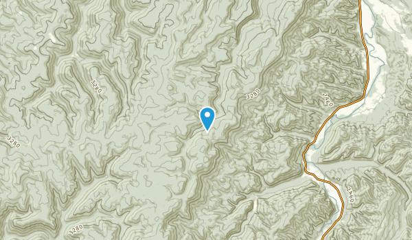Spangler, West Virginia Map