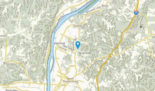Vienna, West Virginia Map