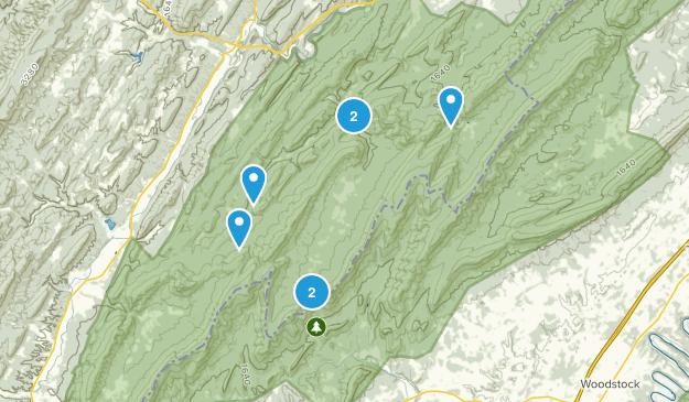 Wardensville, West Virginia Map