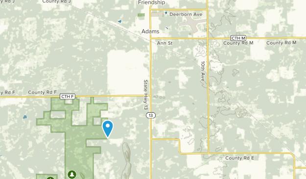 Adams, Wisconsin Map