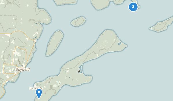 Ashland, Wisconsin Map