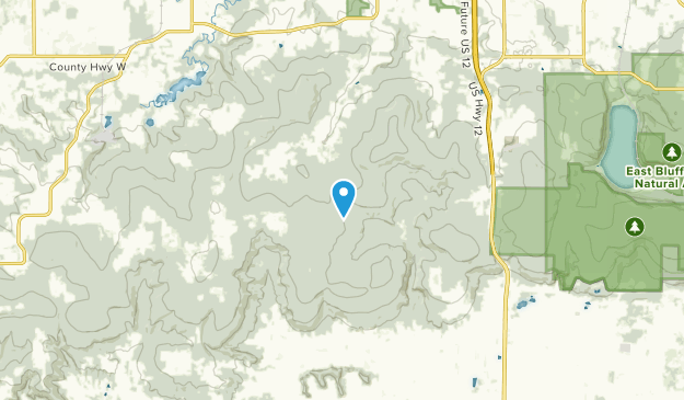 Bluffview, Wisconsin Map