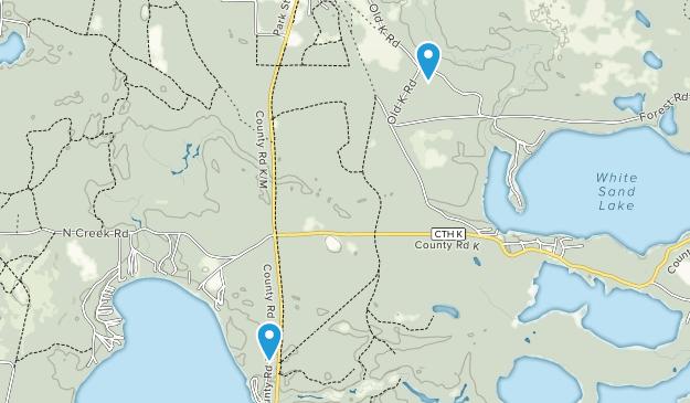 Boulder Junction, Wisconsin Map