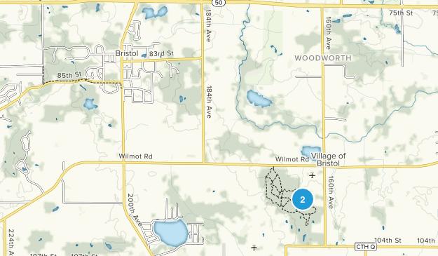Bristol, Wisconsin Map