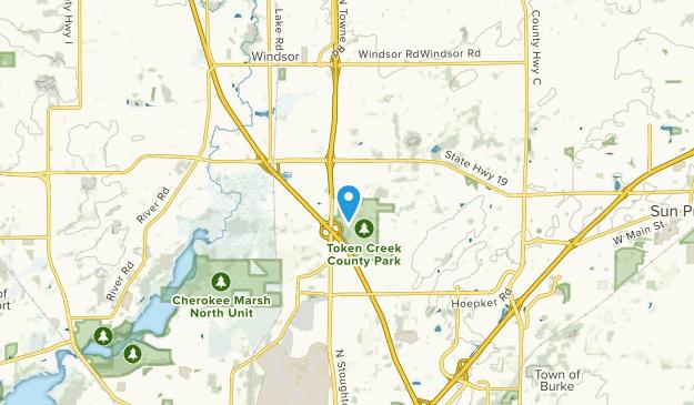 Burke, Wisconsin Map