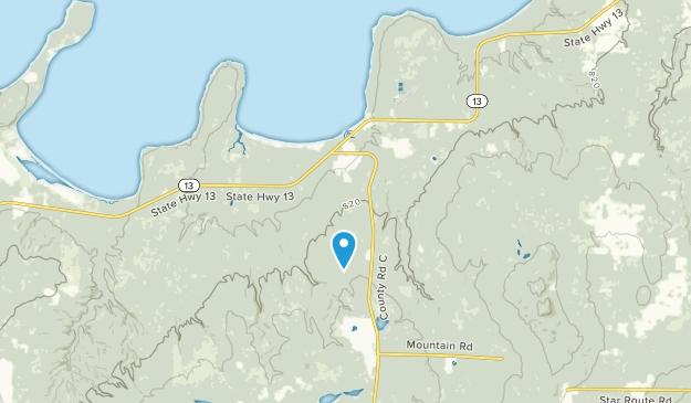 Cornucopia, Wisconsin Map