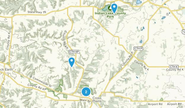 Cross Plains, Wisconsin Map
