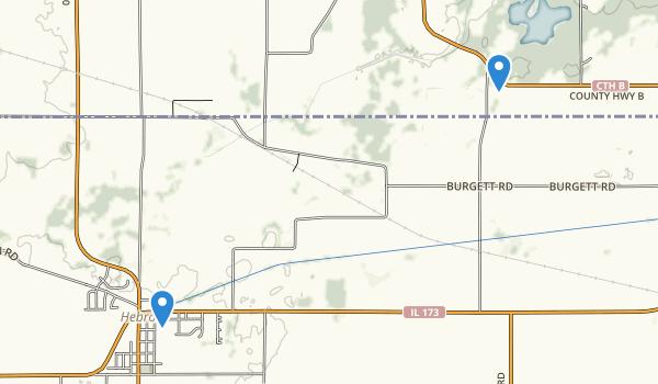 Genoa City, Wisconsin Map