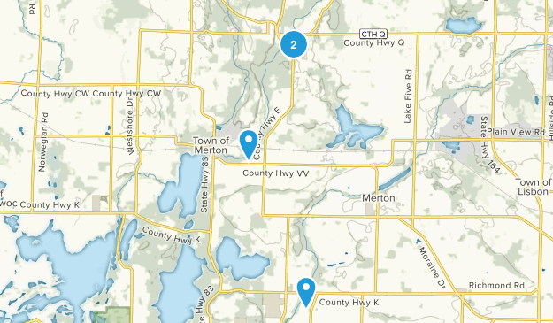 Hartland, Wisconsin Map