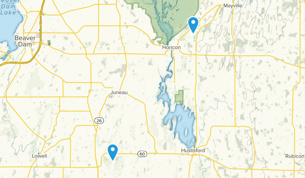 Horicon, Wisconsin Map