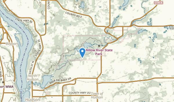 Hudson, Wisconsin Map