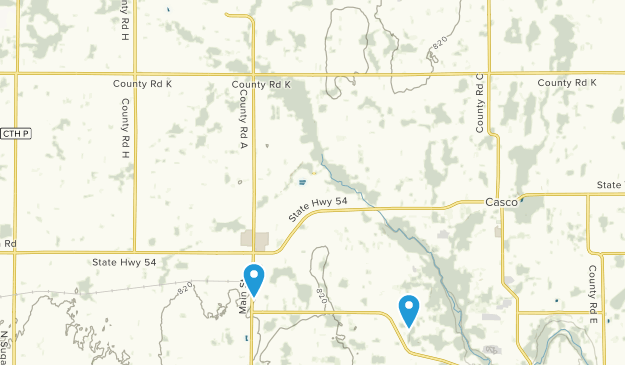 Luxemburg, Wisconsin Map