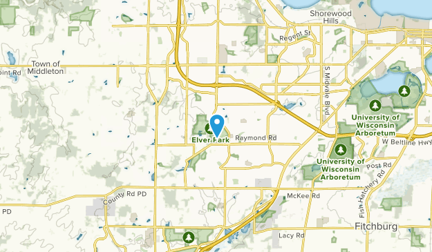 Middleton Junction, Wisconsin Map
