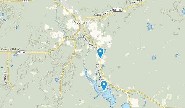 Mountain, Wisconsin Map