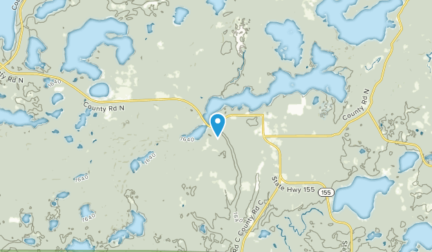 Plum Lake, Wisconsin Map