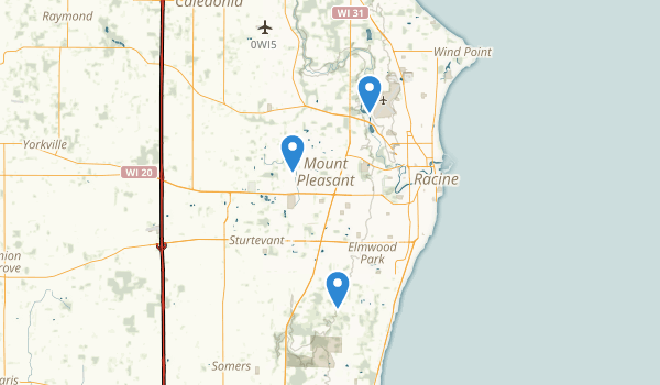 Racine, Wisconsin Map