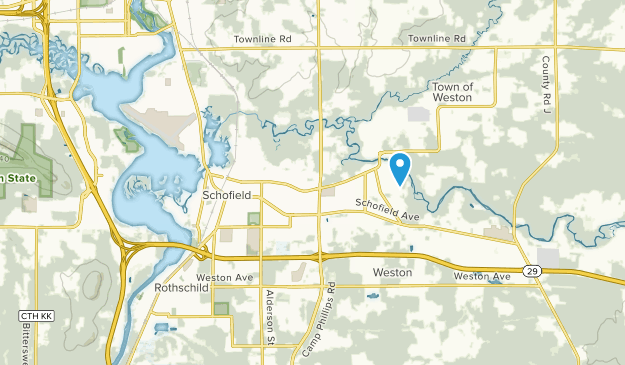 Schofield, Wisconsin Map