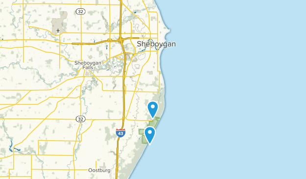 Sheboygan, Wisconsin Map