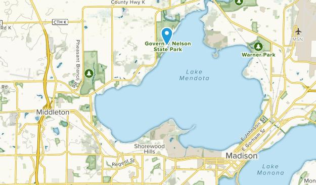 Shorewood Hills, Wisconsin Map