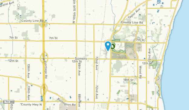 Somers, Wisconsin Map