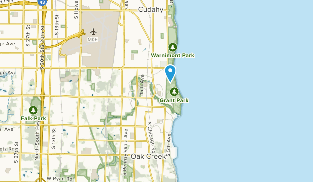 South Milwaukee, Wisconsin Map