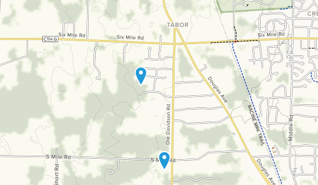Tabor, Wisconsin Map