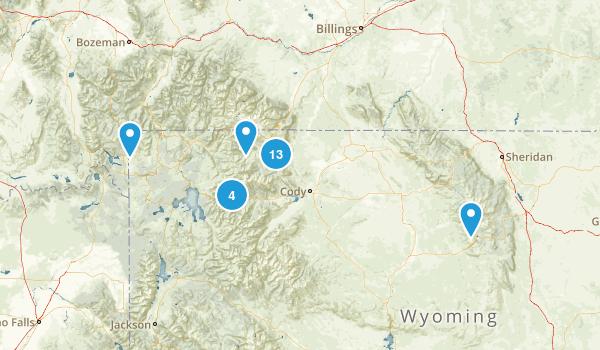Cody, Wyoming Map