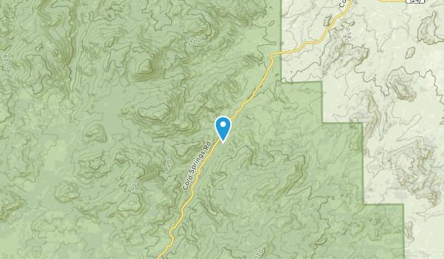 Glenrock, Wyoming Map