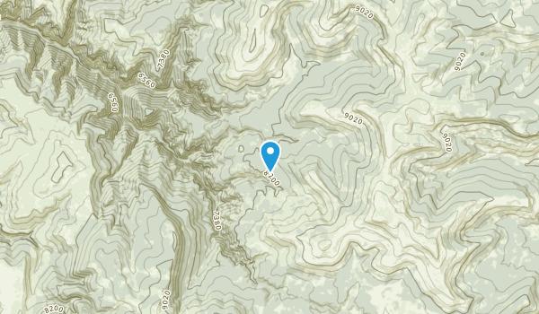 Kane, Wyoming Map