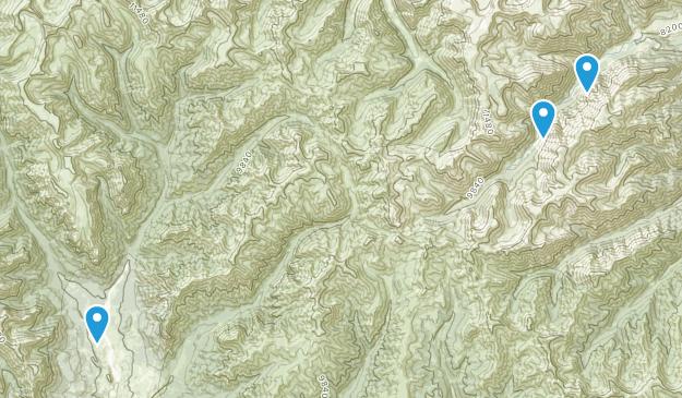 Meeteetse, Wyoming Map