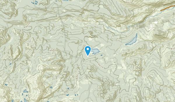 Milford, Wyoming Map