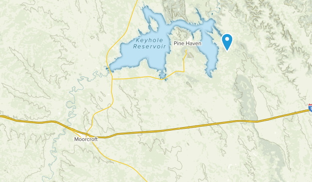 Moorcroft, Wyoming Map