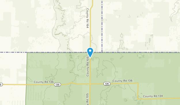 Pine Bluffs, Wyoming Map