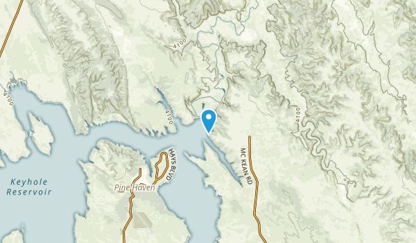 Pine Haven, Wyoming Map