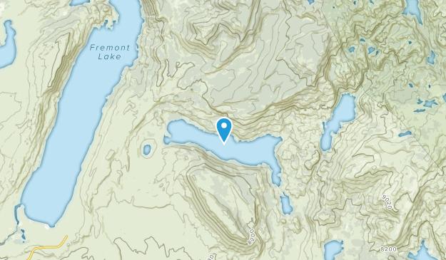 Sylvan Bay Summer Home Area, Wyoming Map