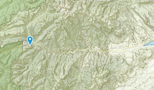 Wapiti, Wyoming Map