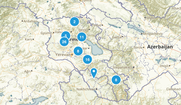 Armenia Regions Map
