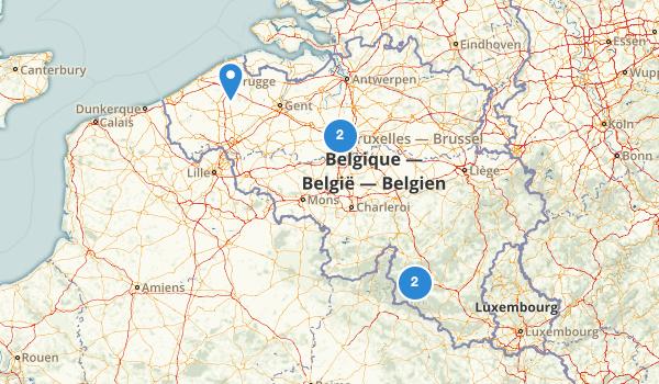 trail locations for Belgium