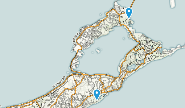 Bermuda Regions Map