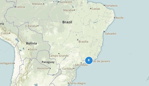 trail locations for Brazil