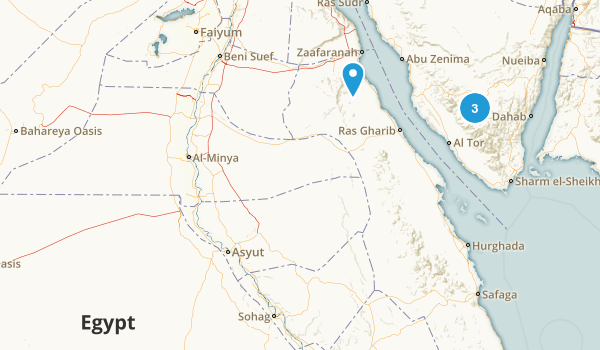 Egypt Regions Map