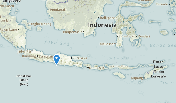 trail locations for Indonesia