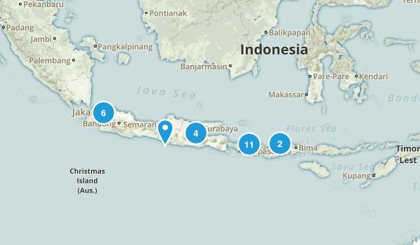 Indonesia Regions Map