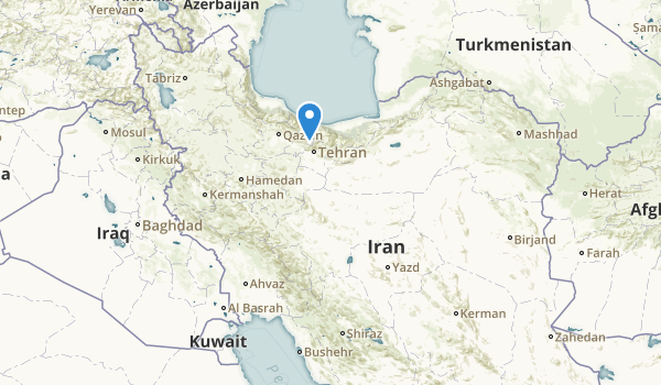 trail locations for Iran