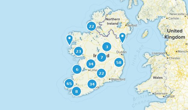 Ireland Elevation Map.Best Trails In Ireland Alltrails