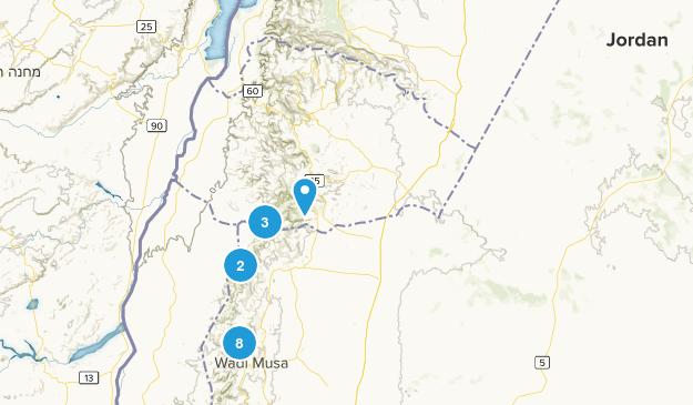 Jordan Cities Map