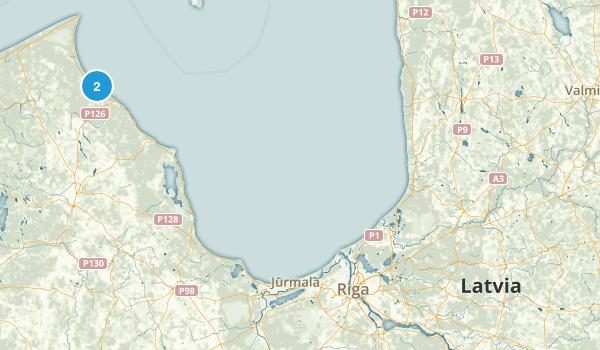 Latvia Regions Map